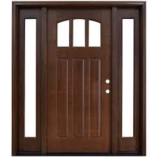 hickory front doors exterior doors the home depot