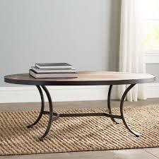 wayfair com end tables mercury row ceres oval coffee table reviews wayfair with oval coffee