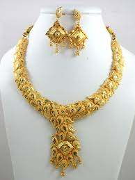 ladies necklace sets images Gold plated necklace set at rs 350 piece ladies jewelry jpg