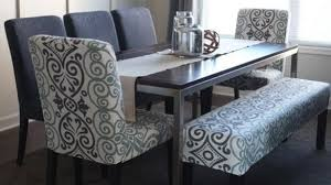 elegant bench seating dining table cozynest home