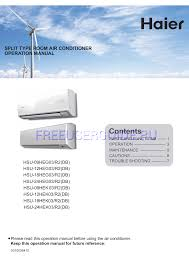 user manual split air conditioner air conditioner databases