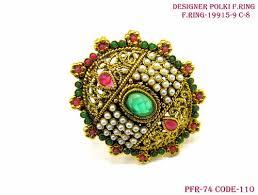 beautiful finger rings images Beautiful multi colour finger ring shubham creations mumbai jpg