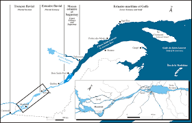 St Lawrence River Map General Information On The St Lawrence The River Environment
