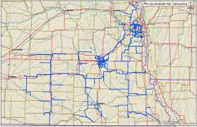 Kansas City Metro Map by Metro Fiber Maps Great Plains Telecom Ramblings