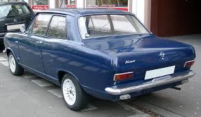 1971 opel ascona opel kadett