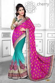 fashid wholesale cherry by prathana saree indian colorful