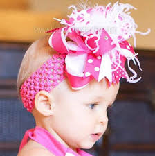 beautiful bows boutique buy ott shocking hot pink white baby toddler headband online at