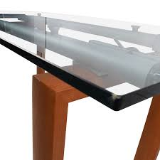 Custom Made Dining Room Furniture 90 Off Custom Made Glass Dining Table Tables