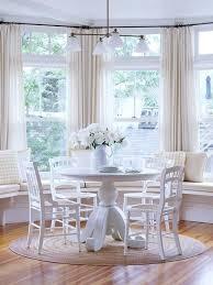 Best Breakfast Nook Good Morning Images On Pinterest - Bay window kitchen table