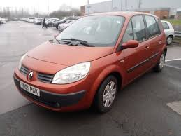 renault scenic expression 1 6 petrol 2005 manual 5 seater in