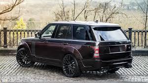 kahn range rover kahn introduces rs pace car for range rover and range rover sport