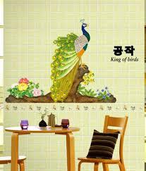 wow interiors and decors animals birds pvc wall stickers buy wow interiors and decors animals birds pvc wall stickers