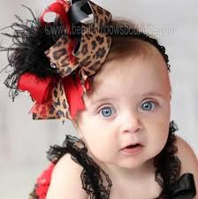 big hair bows buy big fancy black leopard the top hair bow or baby