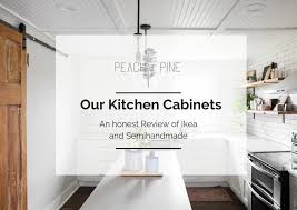 reviews on ikea kitchen cabinets pine home our kitchen cabinets an honest review