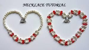 handmade necklace tutorial images Diy jewelry gift idea necklace tutorial elegant jewelry making jpg