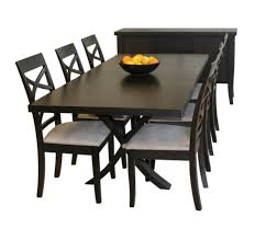 furniture solid oak extending dining table and chairs set