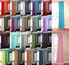 Eclipse Brand Curtains Eyelet Curtains