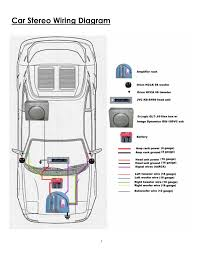 car audio wiring diagram car wiring diagrams instruction