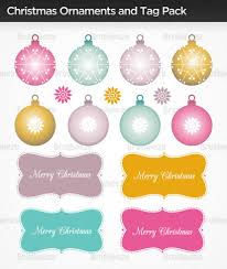 christmas ornaments and tag photoshop brushes free photoshop