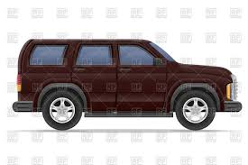 family car side view suv car side view vector clipart image 110833 u2013 rfclipart