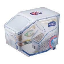 Large Rice Storage Container Amazon Com Lock U0026 Lock Bulk Storage Bins Food Storage Container