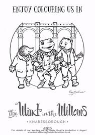 wind willows coloring pages coloring