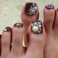 how to apply rhinestones on nails step by step tutorial