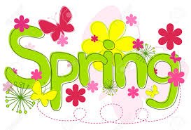 spring text royalty free cliparts vectors and stock illustration