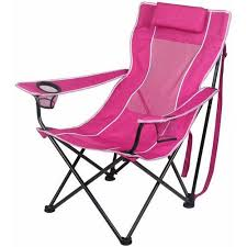 Camping Lounge Chair Ozark Trail Oversized Mesh Lounge Camping Chair With Cup Holders