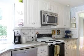 Kitchen Stick On Backsplash Kitchen Cabinets Backsplash Tile Stick On White Cabinets With
