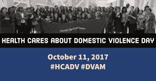 health cares about domestic violence day futures without