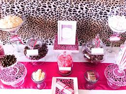 Cheetah Party Decorations Pink And Cheetah Print Birthday Party Ideas Pictures To Pin On