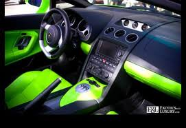 Lamborghini Murcielago Lp640 Interior Lamborghini Murcielago Lp640 With Acid Green Interior