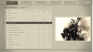 css modern nier automata menu layout killingdyl forums