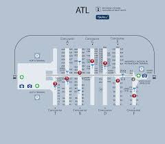atlanta international airport map atlanta airport map if you transfer flights in atlanta you can
