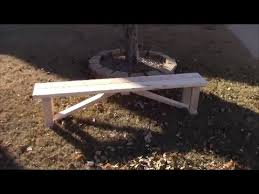 Wood Bench Plans Simple by Beautiful Simple Harvest Farmhouse Bench Diy Youtube