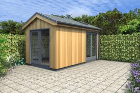 lawn u0026 garden prefab garden pavilion with shed and workplace