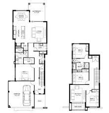 narrow house plan shining 2 storey homes designs for small blocks the 25 best narrow
