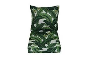 Cushion For Patio Furniture by Amazon Com Tommy Bahama Swaying Palms Aloe Green Tropical