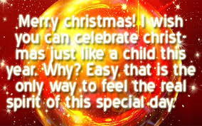 Merry Christmas Greetings Words Christmas Sayings For Facebook And Websites