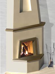 mayan kiva fireplace kit