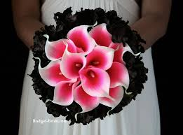 wedding flowers quiz hot pink and black wedding flowers black wedding flowers