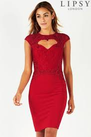 buy red party dresses for women next official site