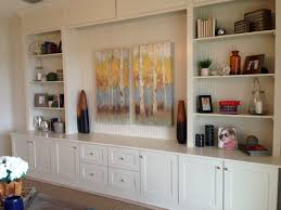 Kitchen Cabinet Entertainment Center Diy Living Room Built In Entertainment Center Made From Kitchen
