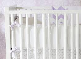 lavender and white crib bumper lavender crib bumper crib