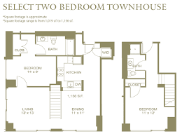 the residences at manchester place 1200 elm street floor plans