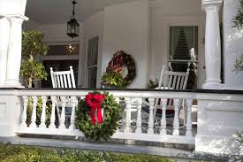 Outdoor Hanging Christmas Decorations Wreaths On Outside Exterior How Christmas Decoration Ideas For