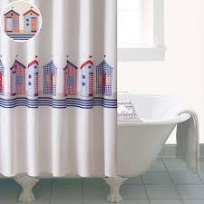 Curtain Pole Dunelm Beach Huts Shower Curtain Dunelm