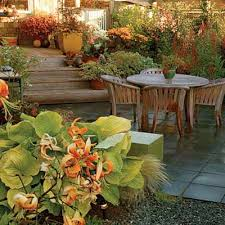 Patios And Decks For Small Backyards by Big Ideas For A Small Yard Wood Patio Furniture Wood Patio And
