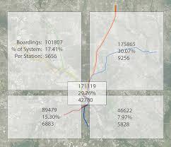 Dart Map Dallas Tx by Some Dart Rail Ridership Infographics For Fun D Magazine